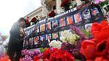 Cinq ans après, l'Ukraine commémore la tragédie d'Odessa