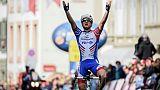 Tour de Romandie: Stefan Küng s'impose en solitaire sur la 2e étape, Roglic reste leader
