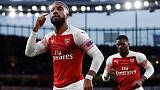 Aubameyang's late strike puts Arsenal in control