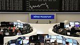 الأسهم الأوروبية ترتفع مدعومة بالبنوك وأديداس