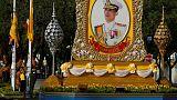 Thai king conducts final rituals before coronation; to pardon prisoners