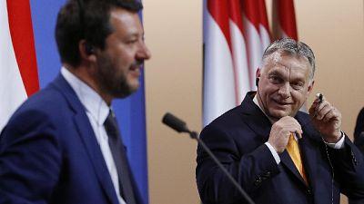 Toninelli, stupisce Salvini con Orban