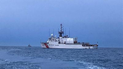Les garde-côtes américains prennent part à des exercices sur la sécurité maritime à Sao Tomé et Principe