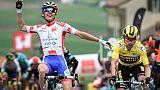 Tour de Romandie: Gaudu s'impose au forceps lors de la 3e étape