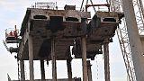 Demolizione Ponte: Arpal, aria è ok