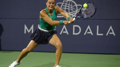 Tennis: Sákkari rejoint Konta en finale à Rabat