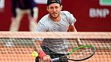 Tennis: Pouille en demi-finale à Bordeaux, Tsonga stoppé en quarts