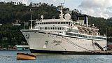 Rougeole sur un navire de la Scientologie: Curaçao examinera les passagers à leur arrivée