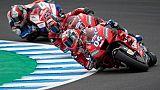 MotoGP: Petrucci toujours devant aux essais du GP d'Espagne, Quartararo 3e