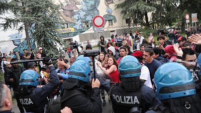 Scontri a Modena, tre denunciati
