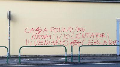 Violenza Viterbo: minacce a Casapound