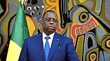 Le président sénégalais Macky Sall, le 12 avril 2019 à Dakar