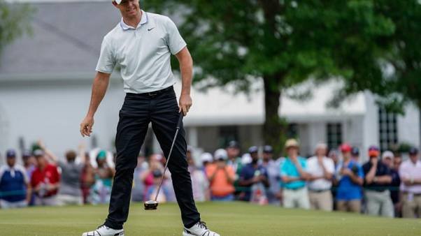 McIlroy trails leaders by two at Wells Fargo