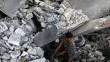 Palestinians report Gaza truce with Israel as violence ebbs