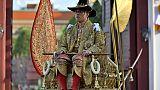 Thaïlande: grande parade et canicule lors du couronnement du roi