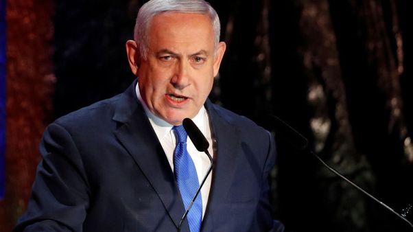"""نتنياهو يتوعد """"بضربات مكثفة"""" على غزة"""