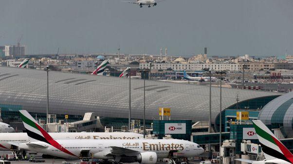تراجع عدد مسافري مطار دبي 2.2% إلى 22.2 مليون في الربع/1