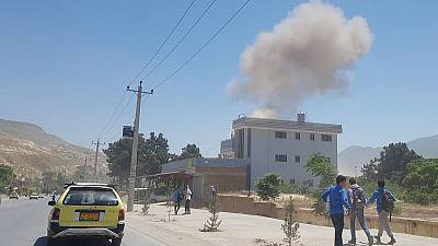 Taliban suicide bomber, gunmen attack police headquarters in northern Afghanistan