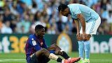 FC Barcelone: blessure confirmée pour Dembélé, forfait à Liverpool