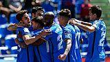 Espagne: Getafe plombe Gérone (2-0) et fait un pas de plus vers la C1