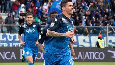 Empoli-Fiorentina 1-0, decide Farias