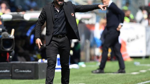 Gattuso insists no decision has been made on his AC Milan future