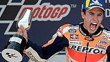 MotoGP: Marc Marquez impérial chez lui en Espagne, Quartararo abandonne