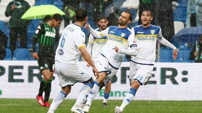 2-2 col Sassuolo, Frosinone in serie B