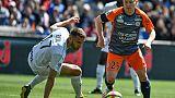 Ligue 1: Montpellier ralentit, Dijon perd pied