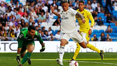 Madrid beat Villarreal in front of sparse Bernabeu crowd