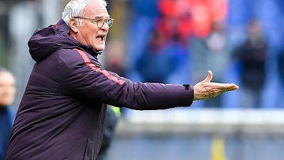 Ranieri,ci serviva vittoria non molliamo