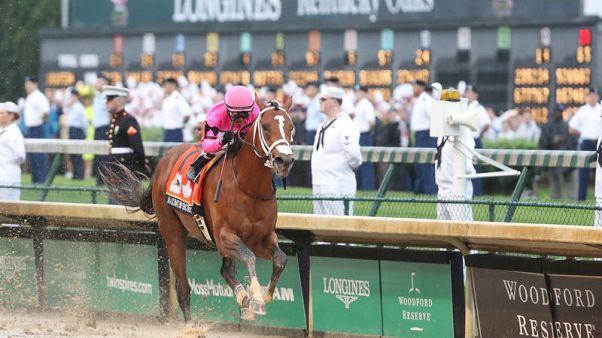 Maximum Security owner denies impeding Kentucky Derby winner