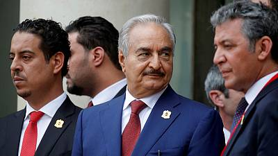 Libya's Haftar orders troops to chase and destroy enemy forces - tape