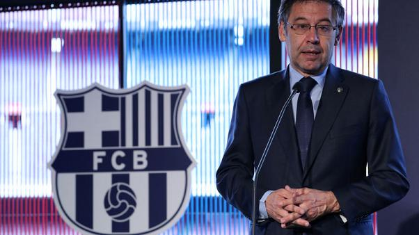 Barca chief wants Champions League changes, Liga games abroad