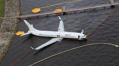 'Thrust reverser' broken on plane that slid into Florida river