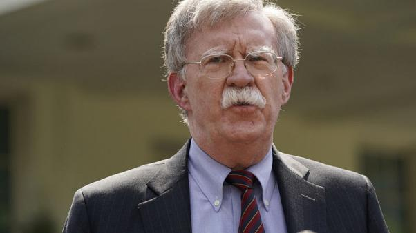 U.S. deploying carrier, bombers to Middle East in warning to Iran - Bolton