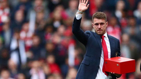 Juventus-bound Ramsey bids emotional farewell to Arsenal