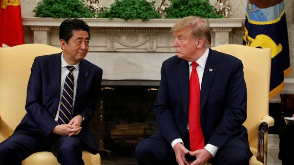 Japan's Abe and Trump to discuss North Korea on Monday - NHK