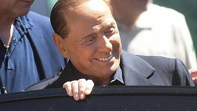 Berlusconi says ready for EU vote after 'big fright' of emergency surgery