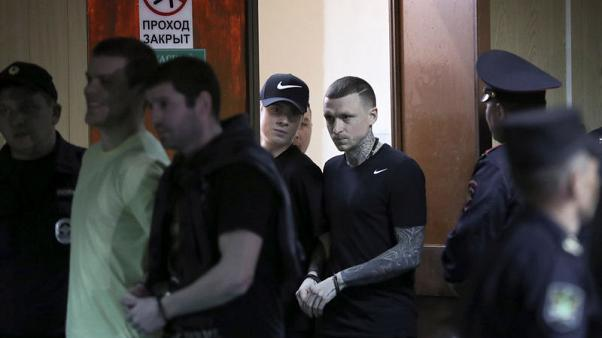 Prosecutor asks for jail time for Russian soccer stars accused of violence - RIA