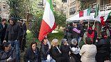 Nomadi:proteste a Roma per casa popolare