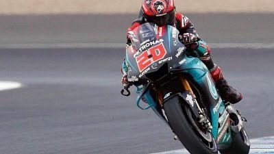 Test Jerez:Quartararo e Crutchlow leader