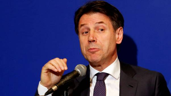 Italy's PM says coalition not facing showdown over graft case