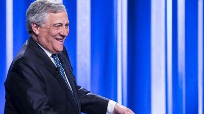 Tajani, voto è occasione, governo a casa