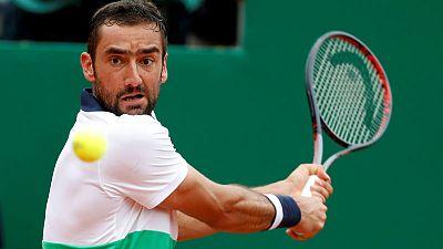 Tennis - Cilic snaps four-match losing streak to edge Klizan