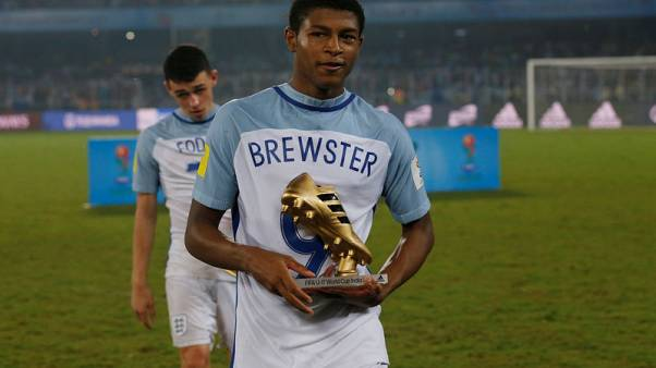 Liverpool's Brewster ready for debut against Barcelona - Klopp