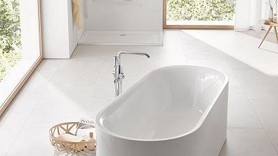 La beauté dans sa forme la plus épurée : GROHE lance Essence, sa nouvelle gamme de céramiques et de baignoires
