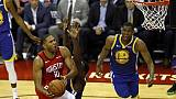 Nba, Rockets-Warriors 2-2 dopo gara 4