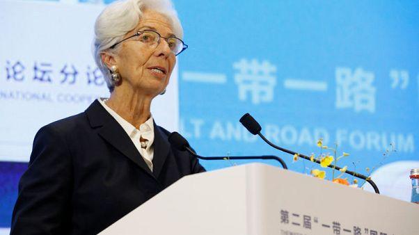 لاجارد: حل التوترات التجارية الأمريكية الصينية ضروري