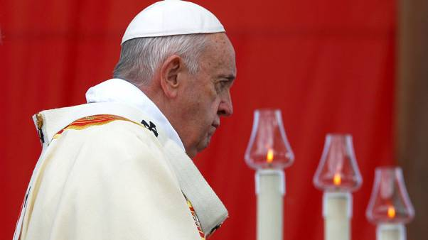 Pope, invoking Mother Teresa, encourages North Macedonia's bid to join EU